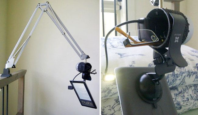 Ikea-Hacks: Lampe als Tablet-Halterung