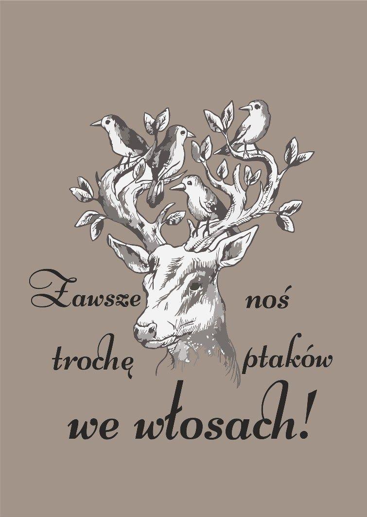 Napis Na ścianę Do Salonu Fryzjerskiego Polish Quote