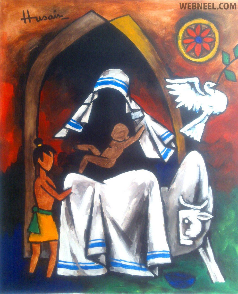 The painter and philosopher: remembering MF Husain on his