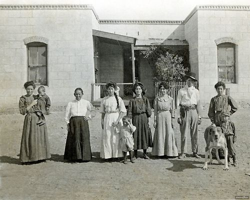 Ancientfaces El Paso Texas 1909 Now This Is A Texas Family