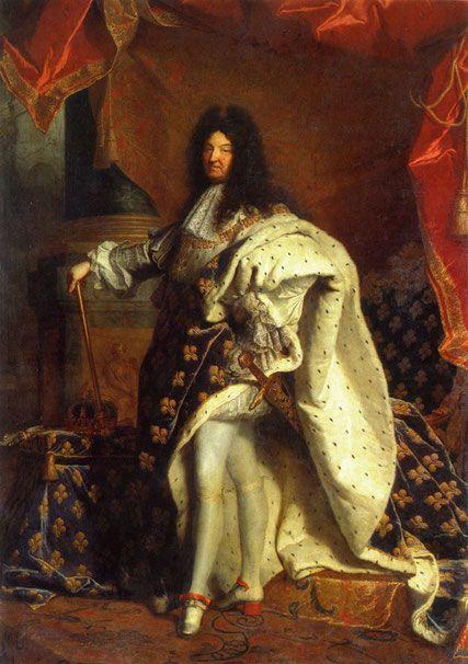 courant-peinture-classicisme: Louis XIV (Hyacinthe Rigaud)