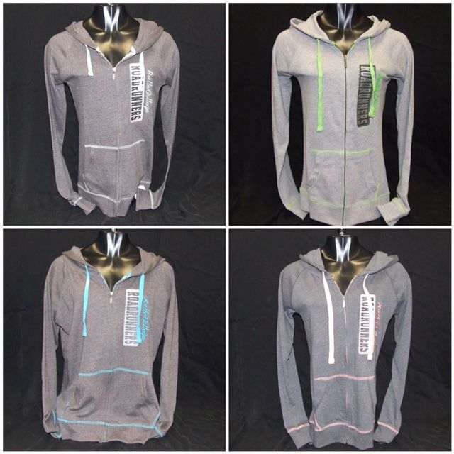 Need a light sweatshirt for this upcoming Autumn season? Why not show your Butte College pride with one of these cute zip-ups?