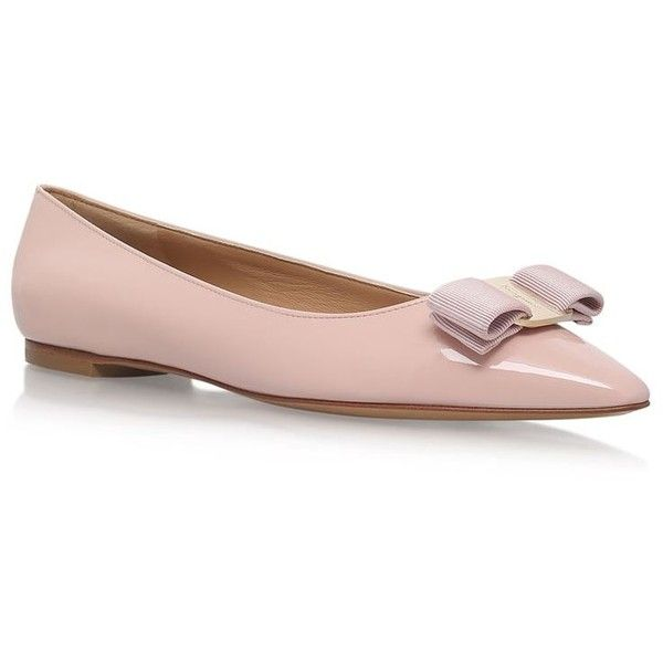 Salvatore Ferragamo Almond toe ballerinas
