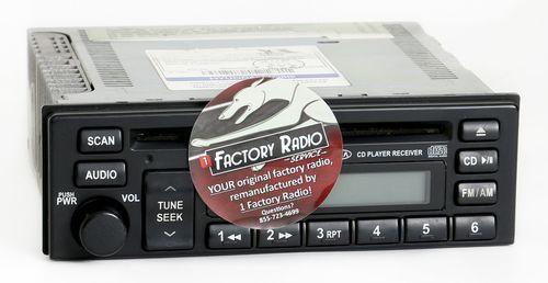 Remanufacture SERVICE for 2002-2005 Kia Sedona AM FM Single Disc CD Player Radio