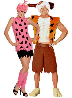adult homemade bambam u0026 pebbles couples costumes | Duo Halloween Costumes - Couples Costume Ideas  sc 1 st  Pinterest : pebbles costumes  - Germanpascual.Com