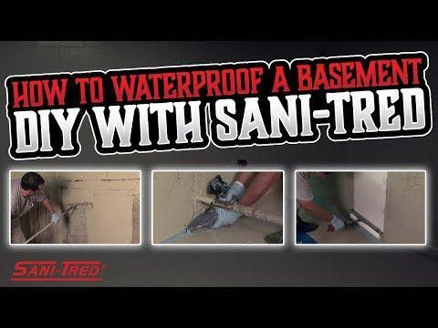 Sani Tred Is A Proprietary Do It Yourself Bat Waterproofing Product That Has