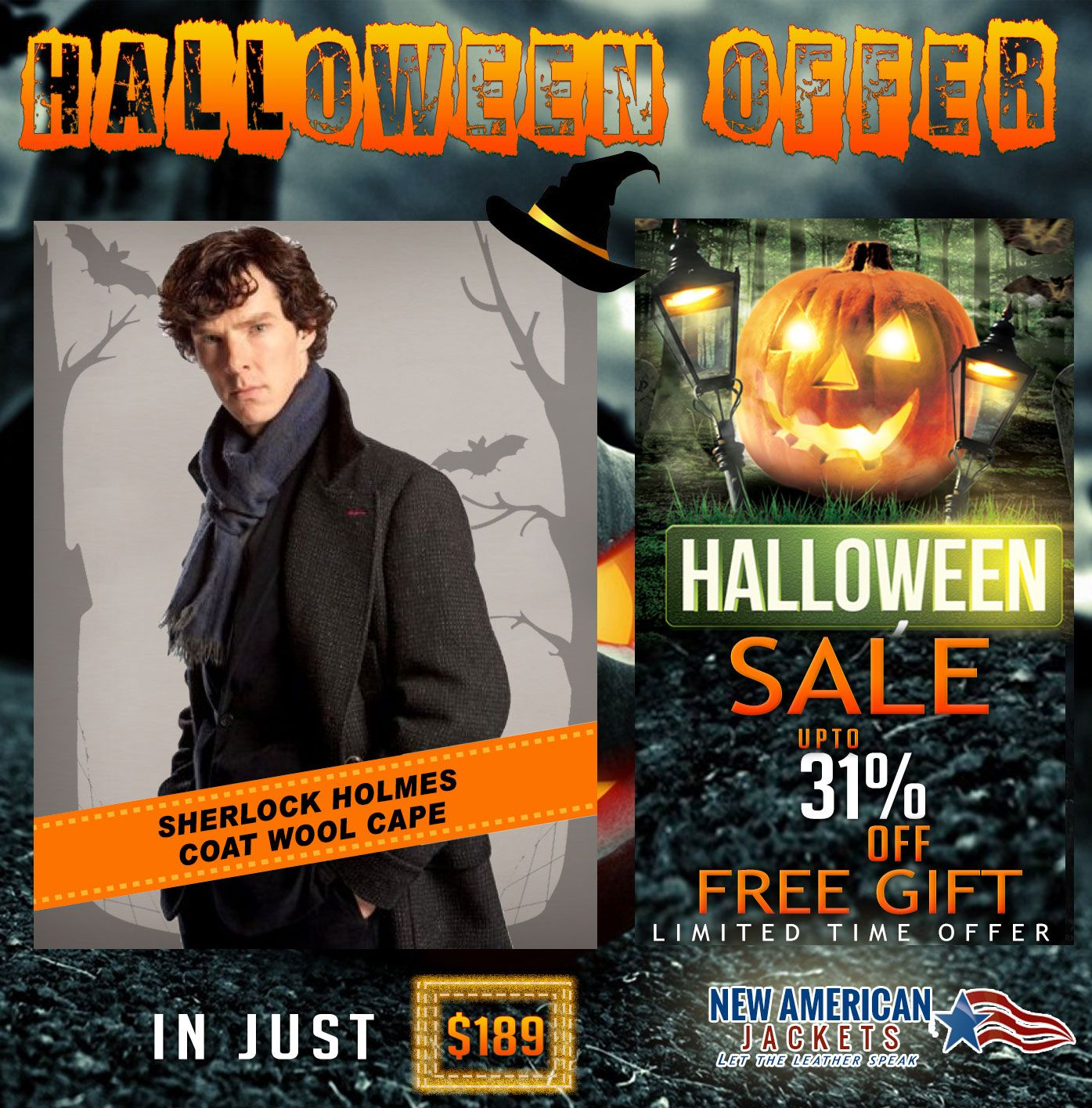 Halloween Sale and Clearance! Sherlock Holmes Coat in Wool Cape now available on discount sale Offer with Free worldwide shipping.  For more detail Visit: >> #Sherlock #Holmes #HalloweenSale #Clearance #costume #boysFashion #halloweencostume #halloweenfashion #lushoween #irememberhalloween #maleFashion #jacket #Celebrity #Shopping #onlineshopping #classy #styleatanyage #clothes #gentleman #gentlemanstyle