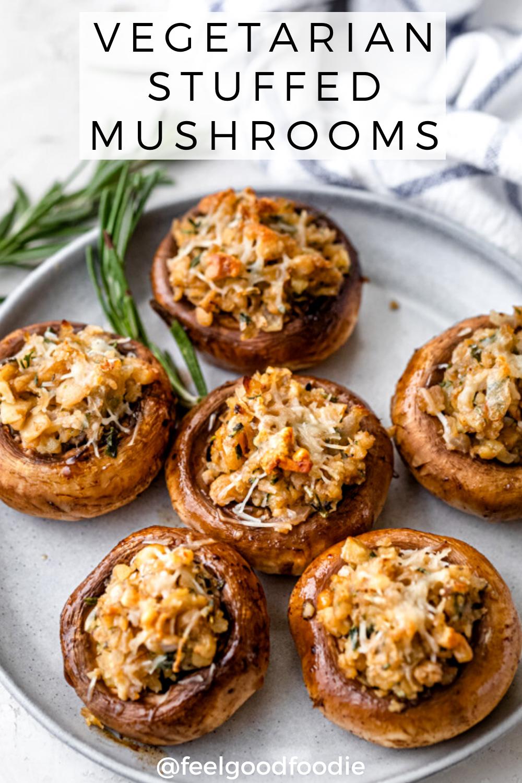 Vegetarian Stuffed Mushrooms Recipe Vegetarian Christmas Recipes Stuffed Mushrooms Vegetarian Vegetarian Holiday Recipes