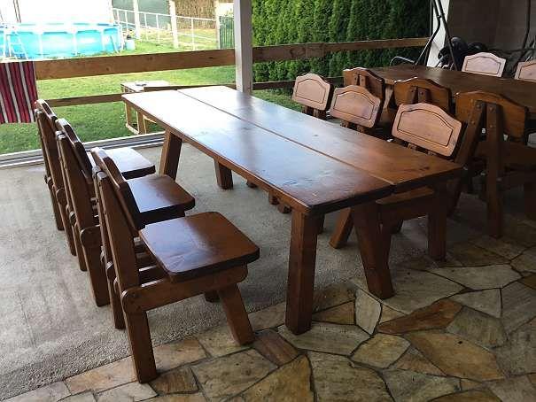 Heurigen Garnitur bzw. Gartentisch Set. 4.163.034 Angebote