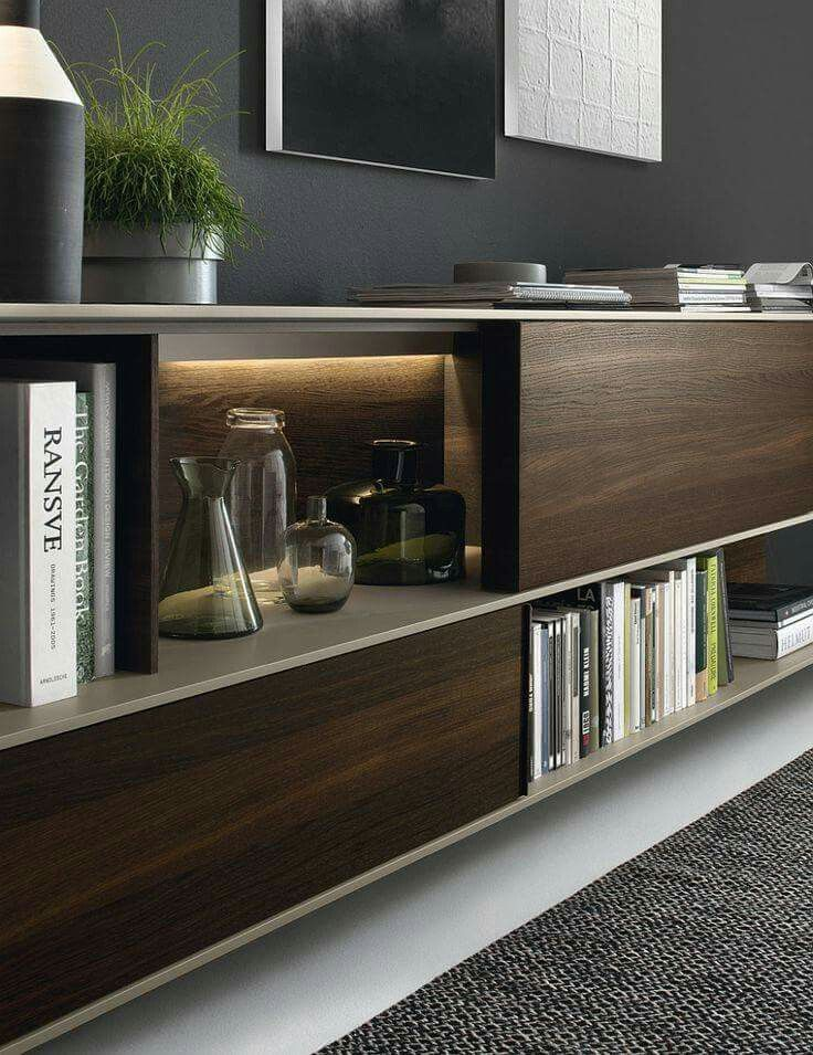 Living Room Unit Designs: Shelvings That Will Work For Both Residential And Office