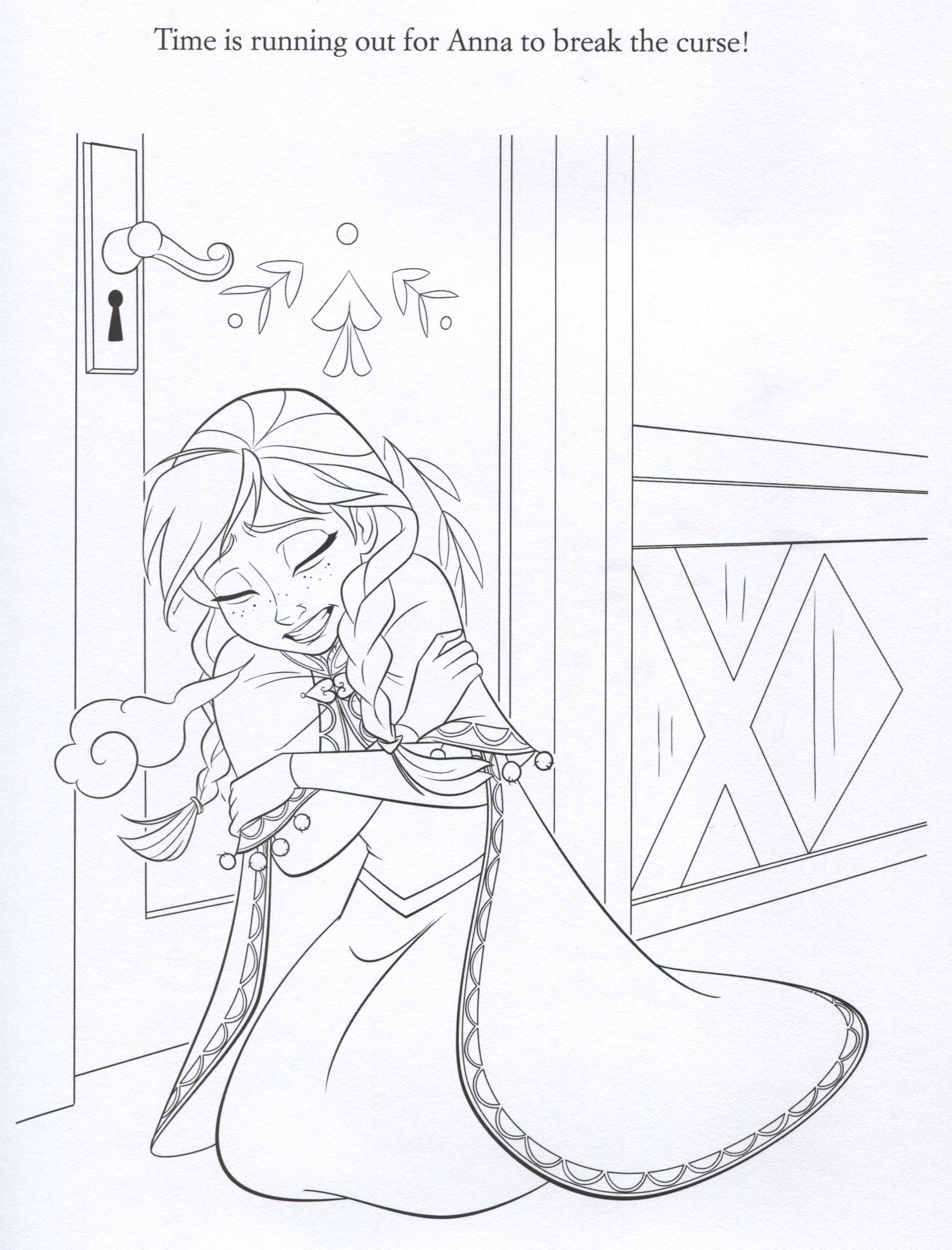 disney frozen coloring sheets | Official Frozen Illustrations ...