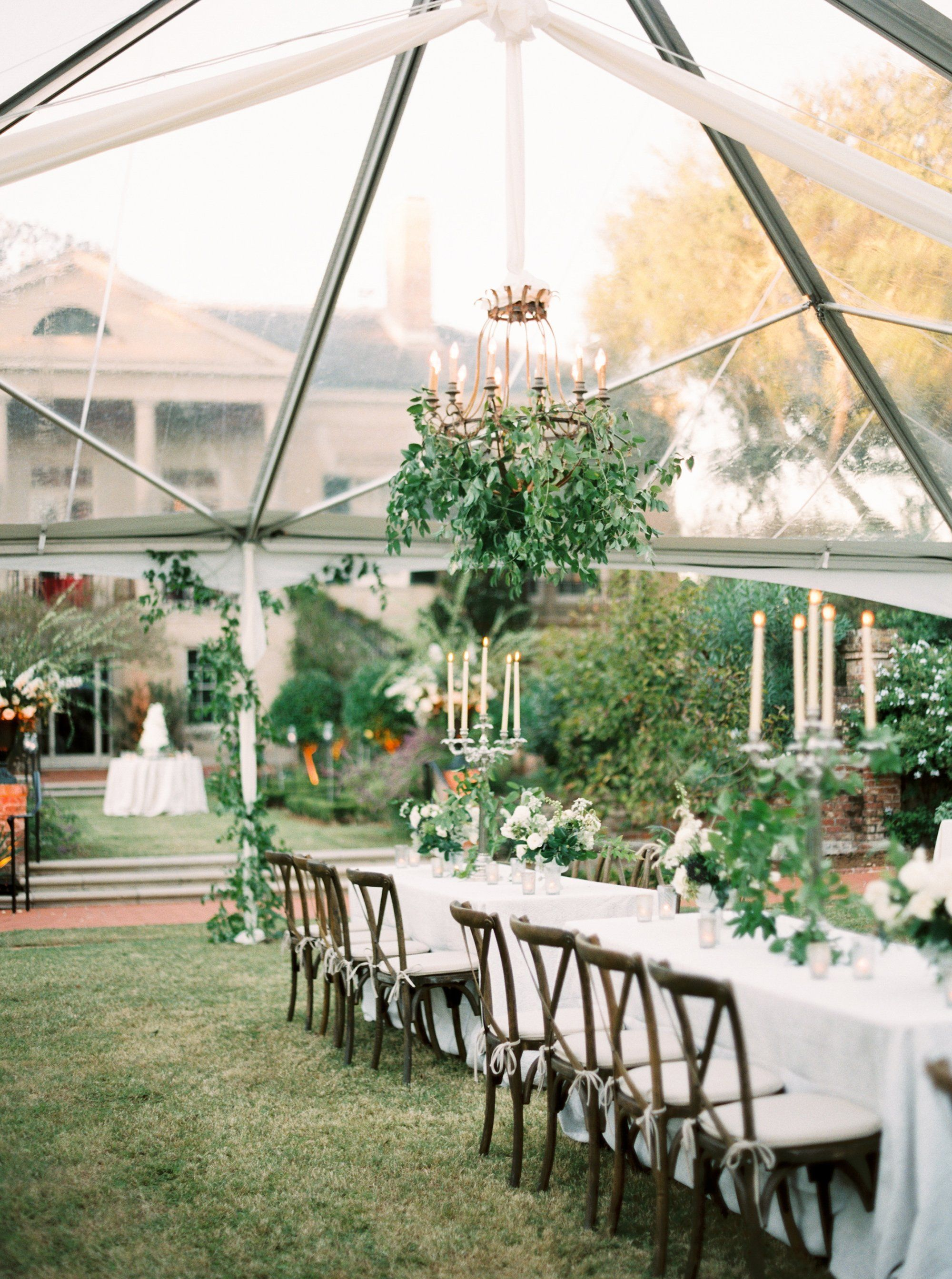 Tent | Hillary Hogan and Keith Putnam-Delaney's Garden Wedding in New Orleans