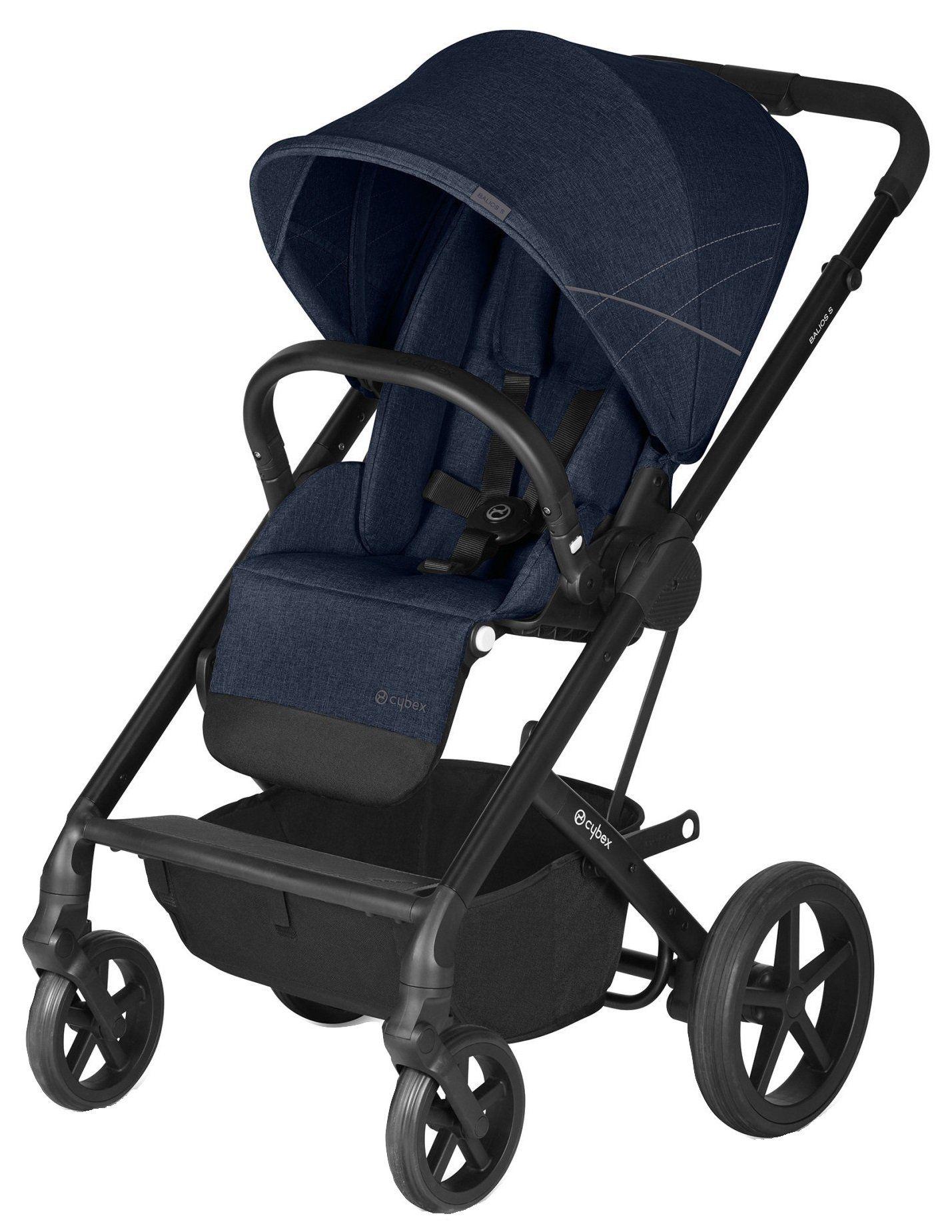 Cybex Balios S (Denim Blue) stroller baby parents