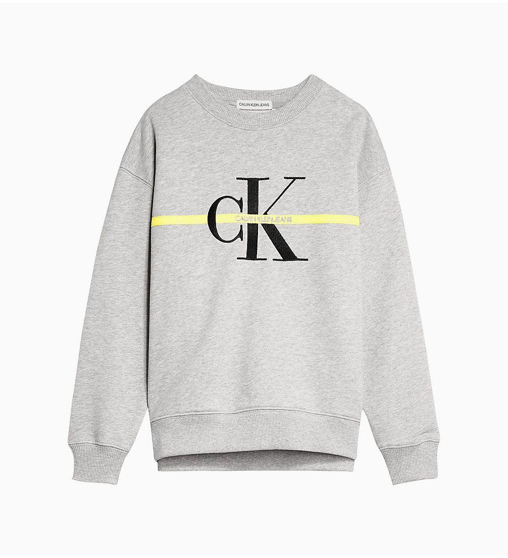 Madchen Ck Jeans Kids In 2020 Calvin Klein Sweatshirt Sweatshirt Marken Kleidung