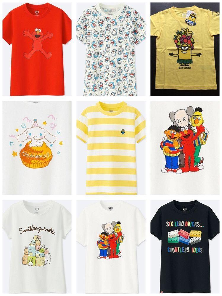021f813df2a Uniqlo collaboration. UNIQLO KIDS SIZING CHART. SANRIO - Doraemon. SANRIO -  CINNAMON ROLL
