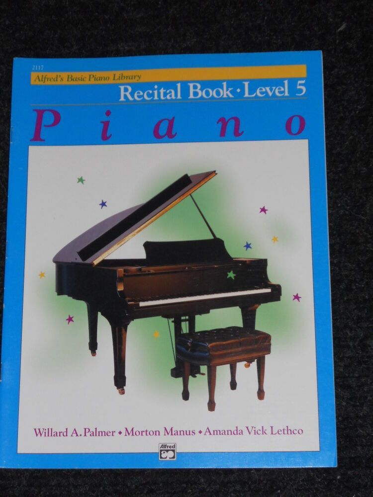 Alfreds basic piano library recital book new