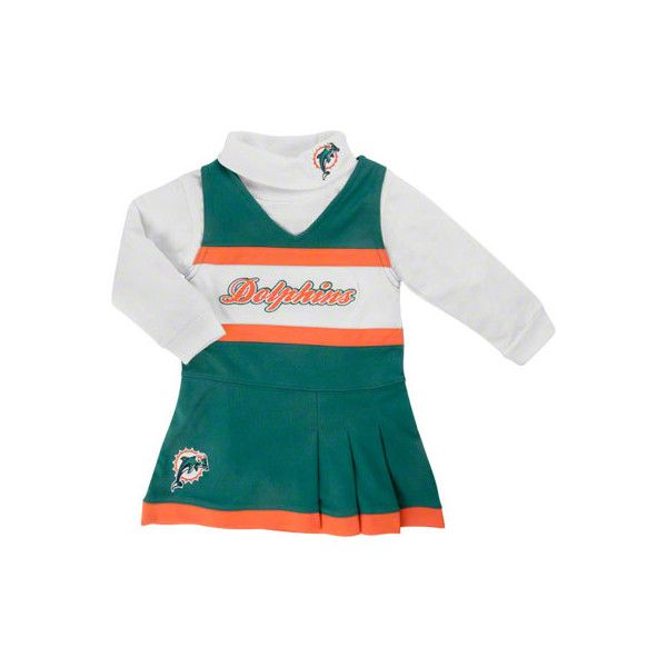 Miami Dolphins Girl's 4-6 Jumper and Turtleneck Set found on Polyvore