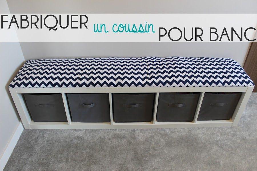 Fabriquer Un Coussin Pour Banc In 2019 Couture Coussin Banc