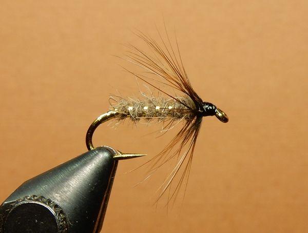 Black 6 x Shipmans Buzzer Fly Fishing Trout Flies