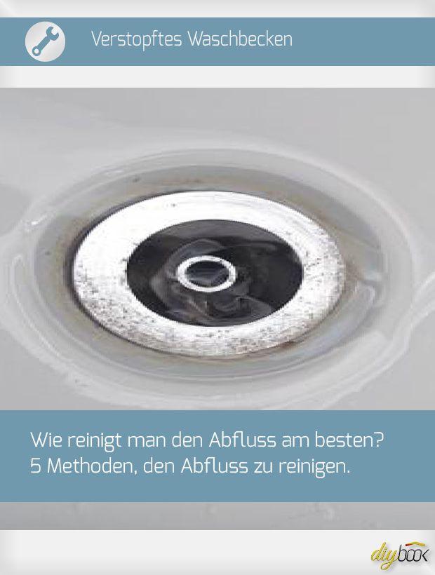 5 Mittel gegen einen verstopften Abfluss Waschbecken