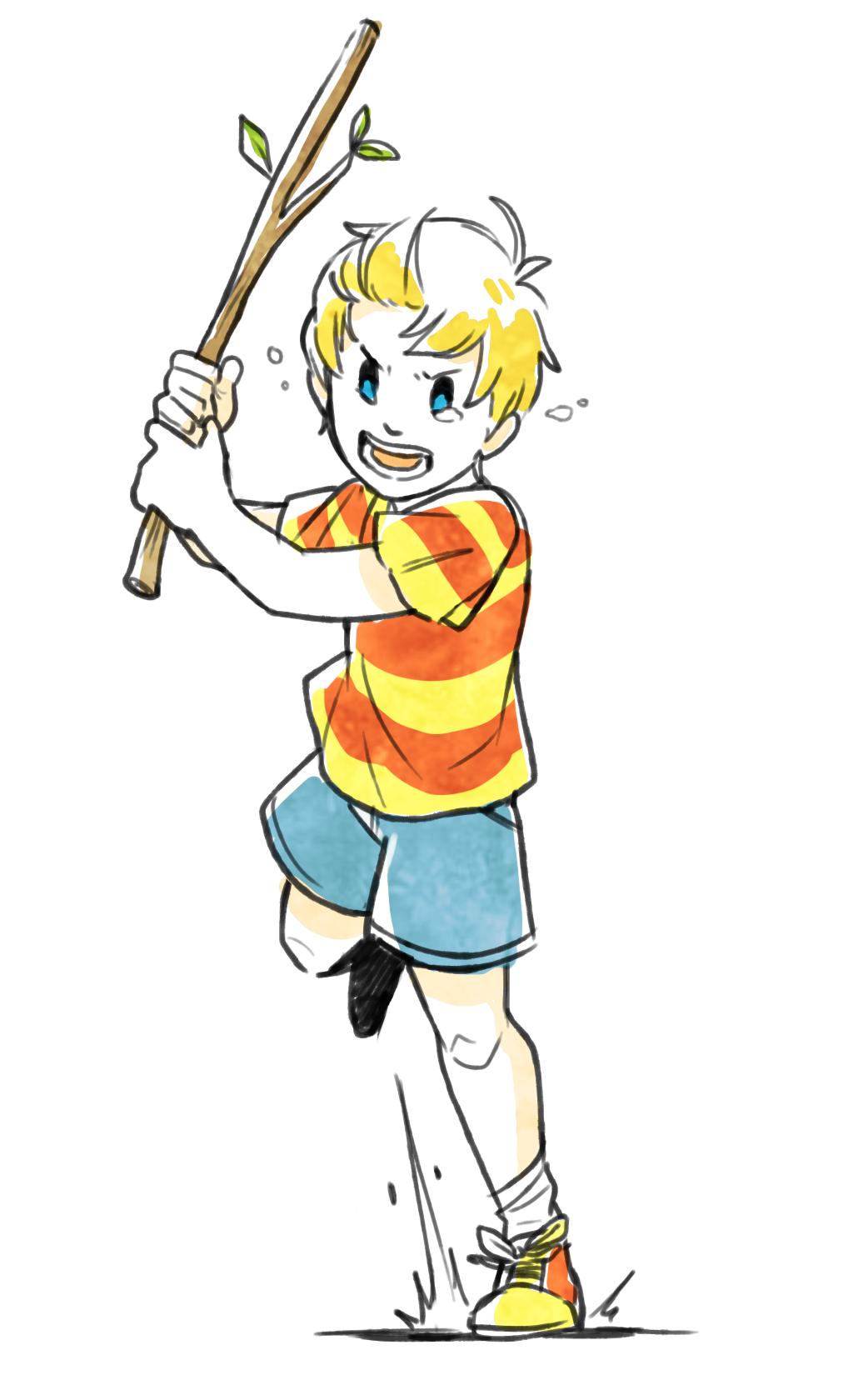 Lucas Mother 3 by scribblecee | Gaming | Lucas mother 3, Lucas