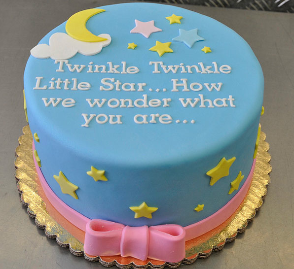 Baby Reveal Cakes on Pinterest