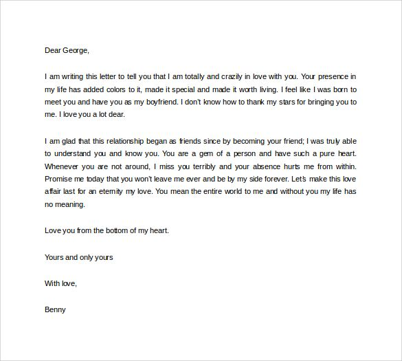 Love letter long distance boyfriend Love Letters for Him, Romantic