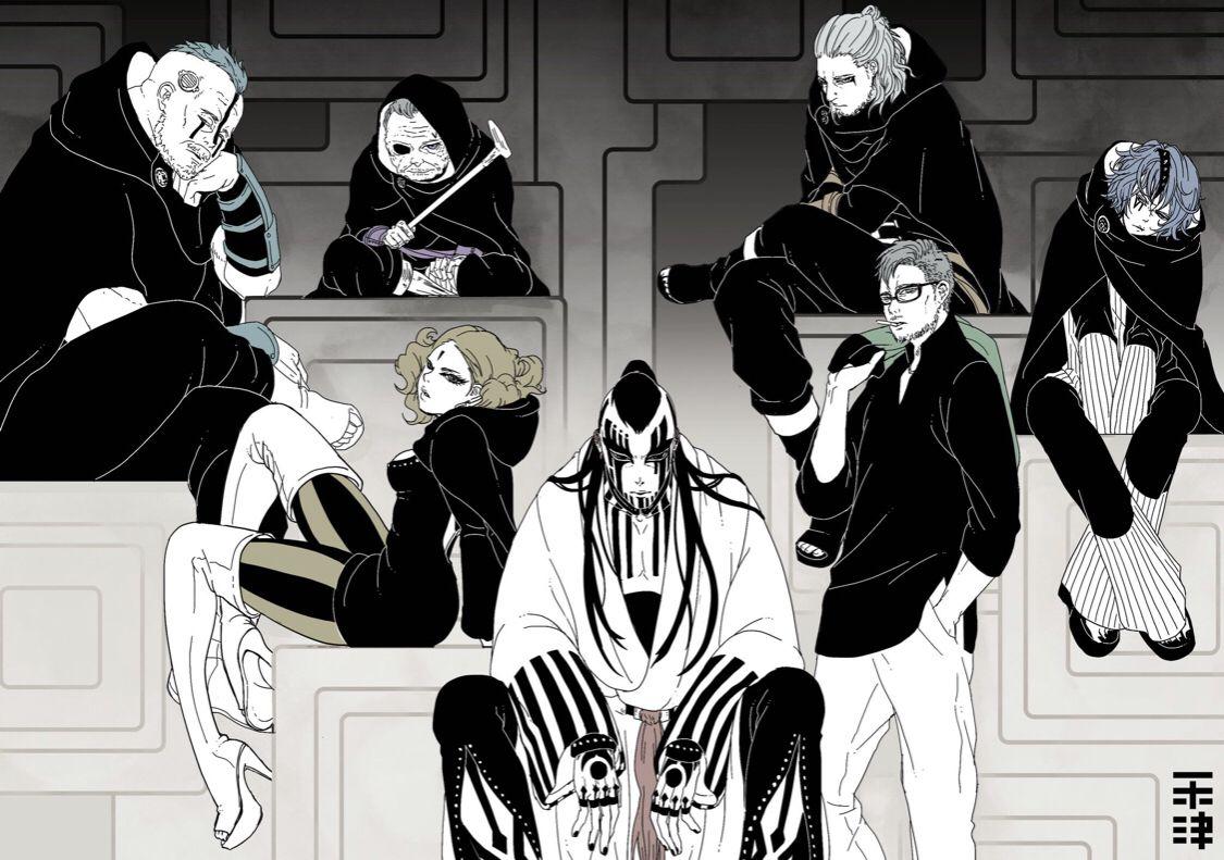 Kara organization em 2020   Animes boruto, Manga de boruto, Personagens de  anime