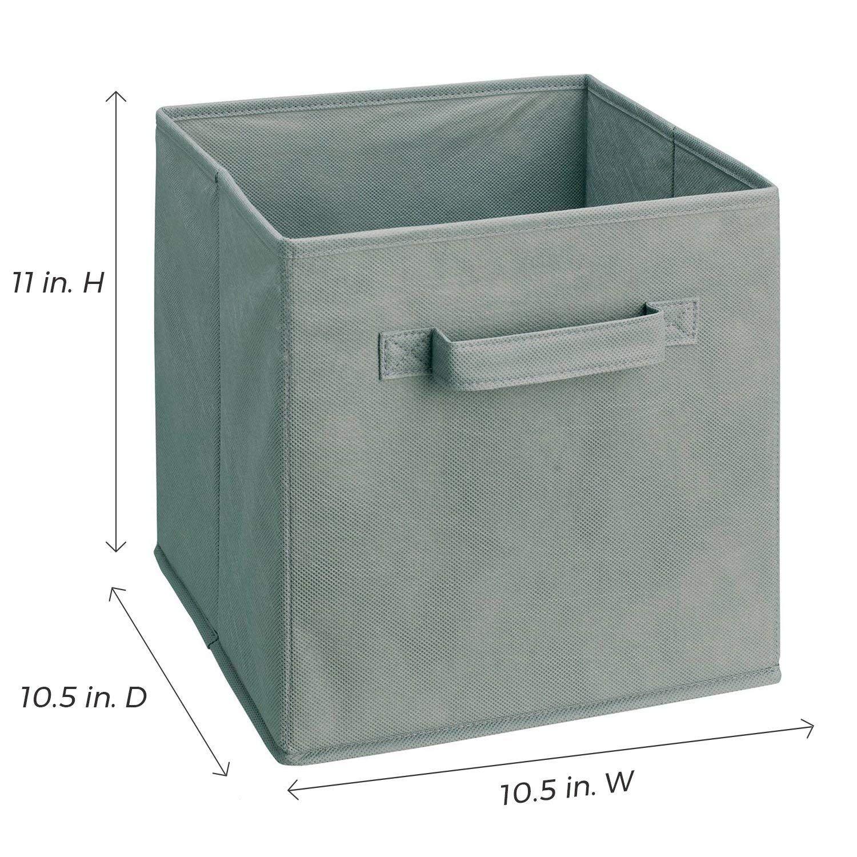 Amazon Com Closetmaid 3785 Cubeicals Fabric Drawer 2 Pack Mocha