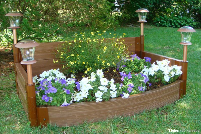 Curved Front Raised Garden Bed Raised Beds Raised