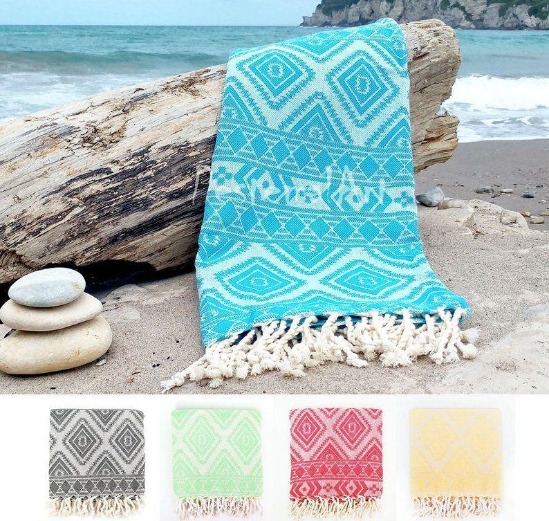 Aztec Turkish Towel Bachelorette Party Favors Beach Towel