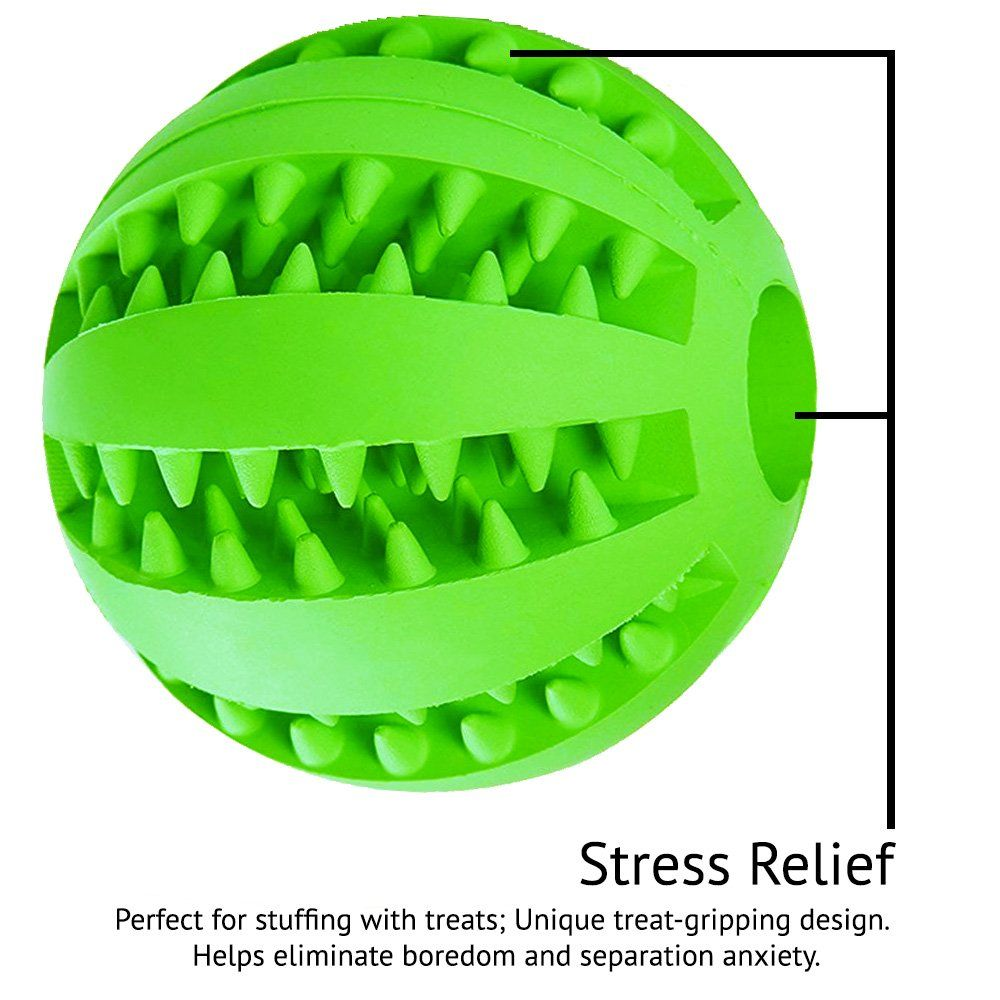 Indestructible Dog Toy Ball For Big Dogs Puppy Pets Best When