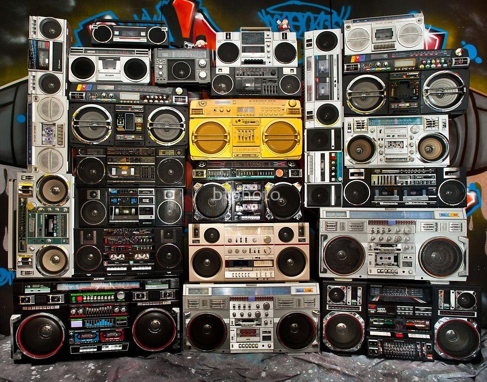 Boombox Main Wall Boombox Retro Gadgets Vintage Radio