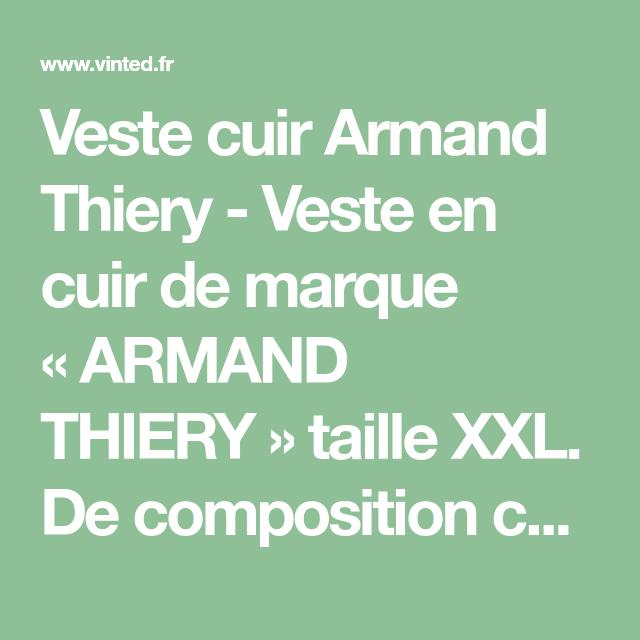 Armand Cuir Veste Pinterest Armand Thiery Thiery Veste Pinterest Cuir qwvFwUOz