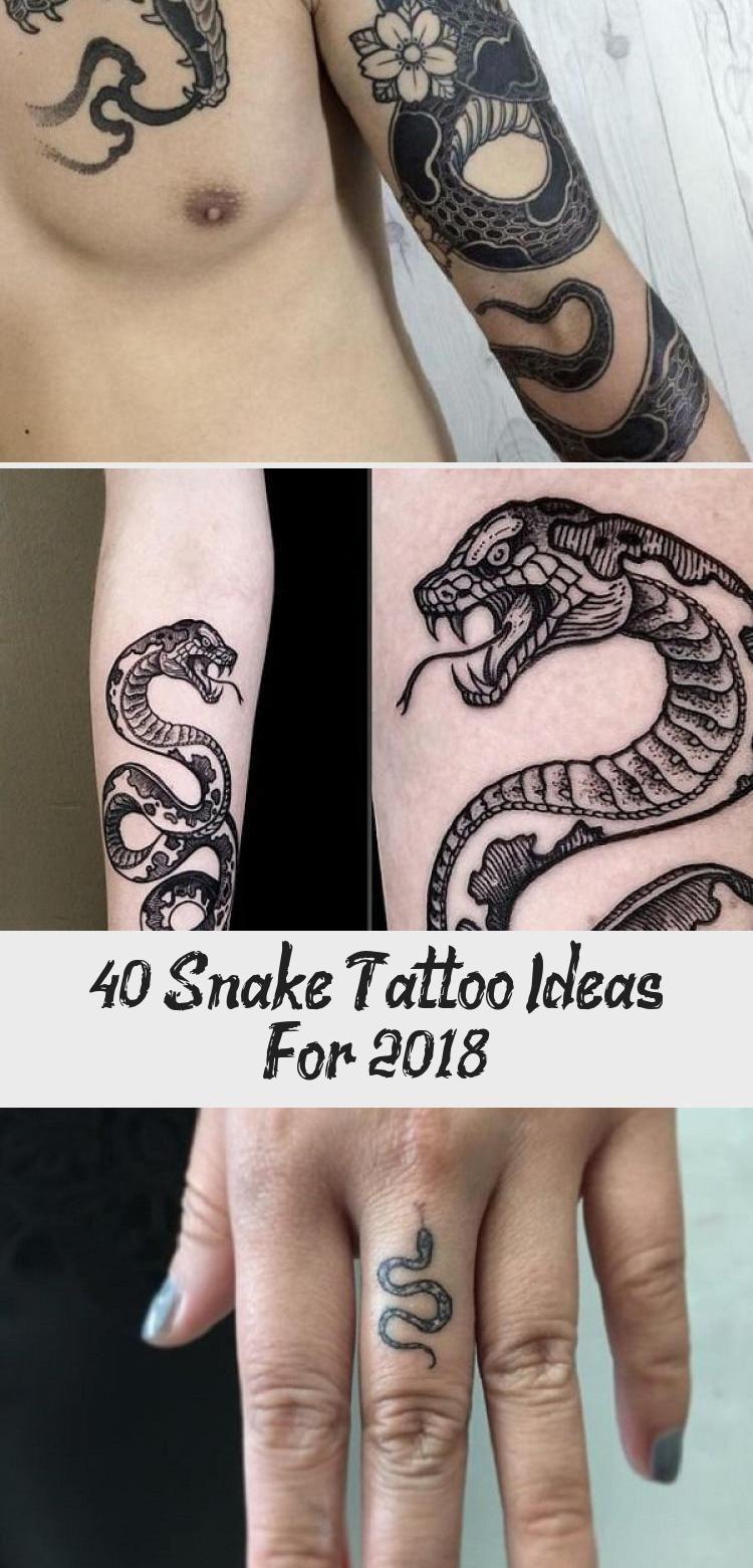 Photo of Plus de 40 idées de tatouage de serpent pour 2018 – Tatouages