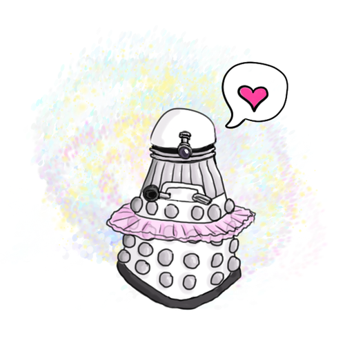 Because daleks damn well OUGHT to be able to be ballerinas if they want to, damn it.