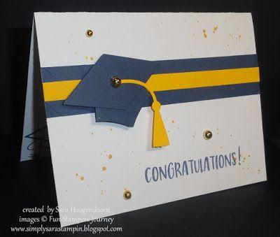 Bravo Grad ~ A Fun Stampers Journey Card Graduation cards, Create