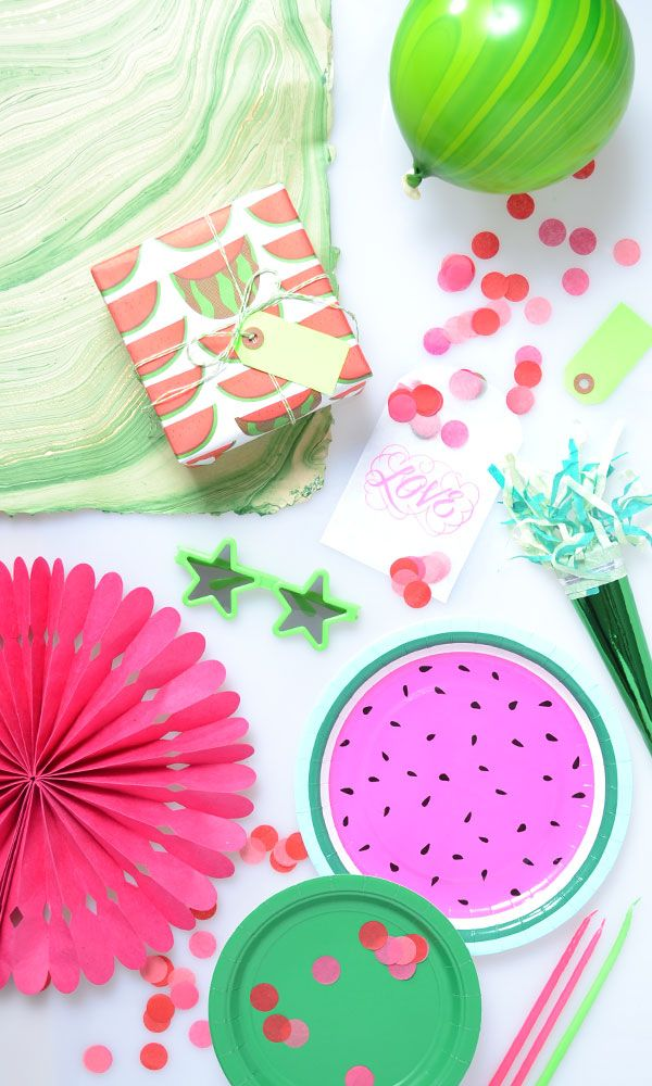 Watermelon Party Supplies!