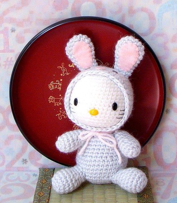 Amigurumi Pattern - Zodiac Rabbit Hello Kitty - Crochet amigurumi ...