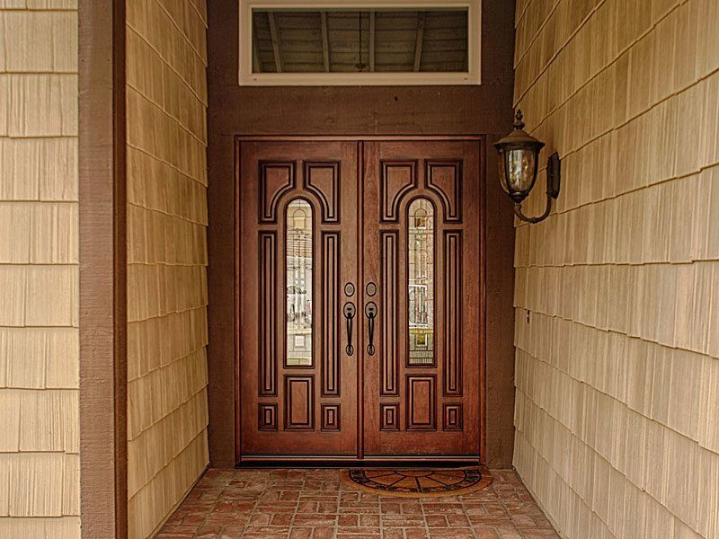 After jeld wen classic collection model a225 double entry doors after jeld wen classic collection model a225 double entry doors mahogany grain antiqued eventshaper