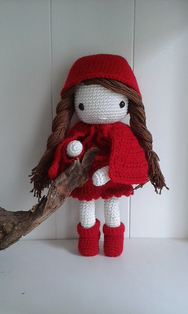 My Crochet Doll Pattern By Isabelle Kessedjian Crochet Stuff