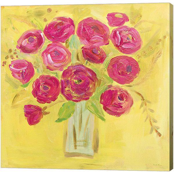 Metaverse Art Burst of Poppies Bright Gallery Wrap Canvas Wall Art ...