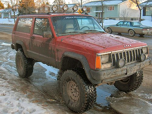 Xj Five Speed Lacking Exterior Protection Jeep Cherokee Sport Jeep Cherokee Jeep Cherokee Xj