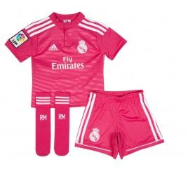 Conjunto niño adidas segunda equipación Real Madrid 2015  5a605d3056217
