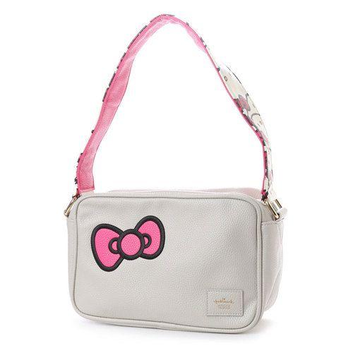 206d12f4a225 Hello Kitty x Hallmark Shoulder Bag Gray  hellokitty  sanrio  shoulderbag