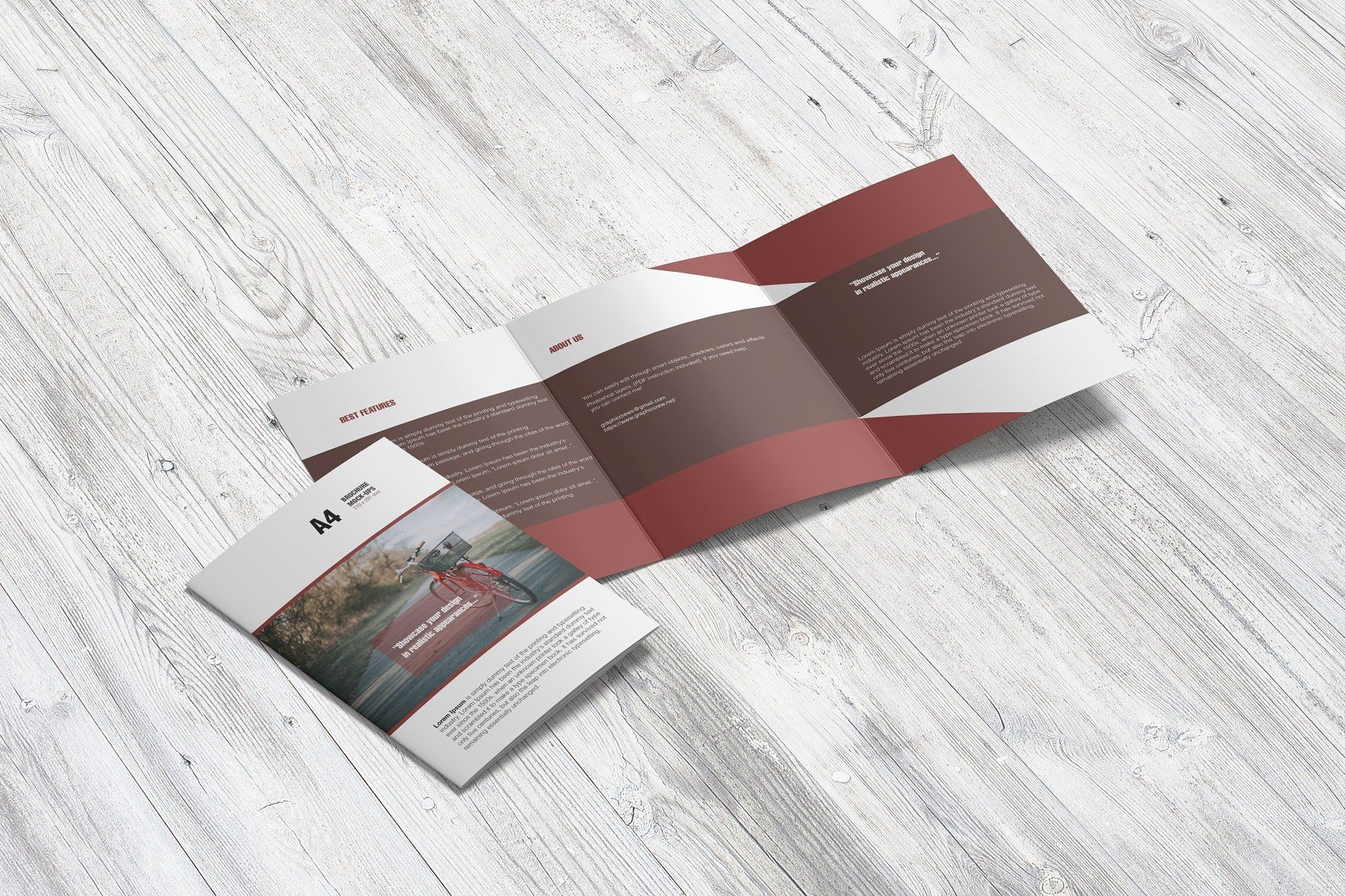 Download A4 Psd Magazine Booklet Mockup Vol 3 Yellowimages