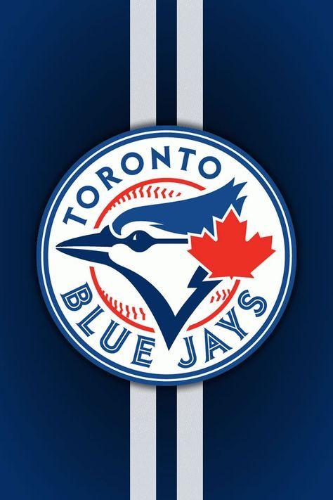 Blue Jays Logo And Stripes Iphone Wallpaper Toronto Blue Jays Logo Blue Jays Baseball Toronto Blue Jays Baseball