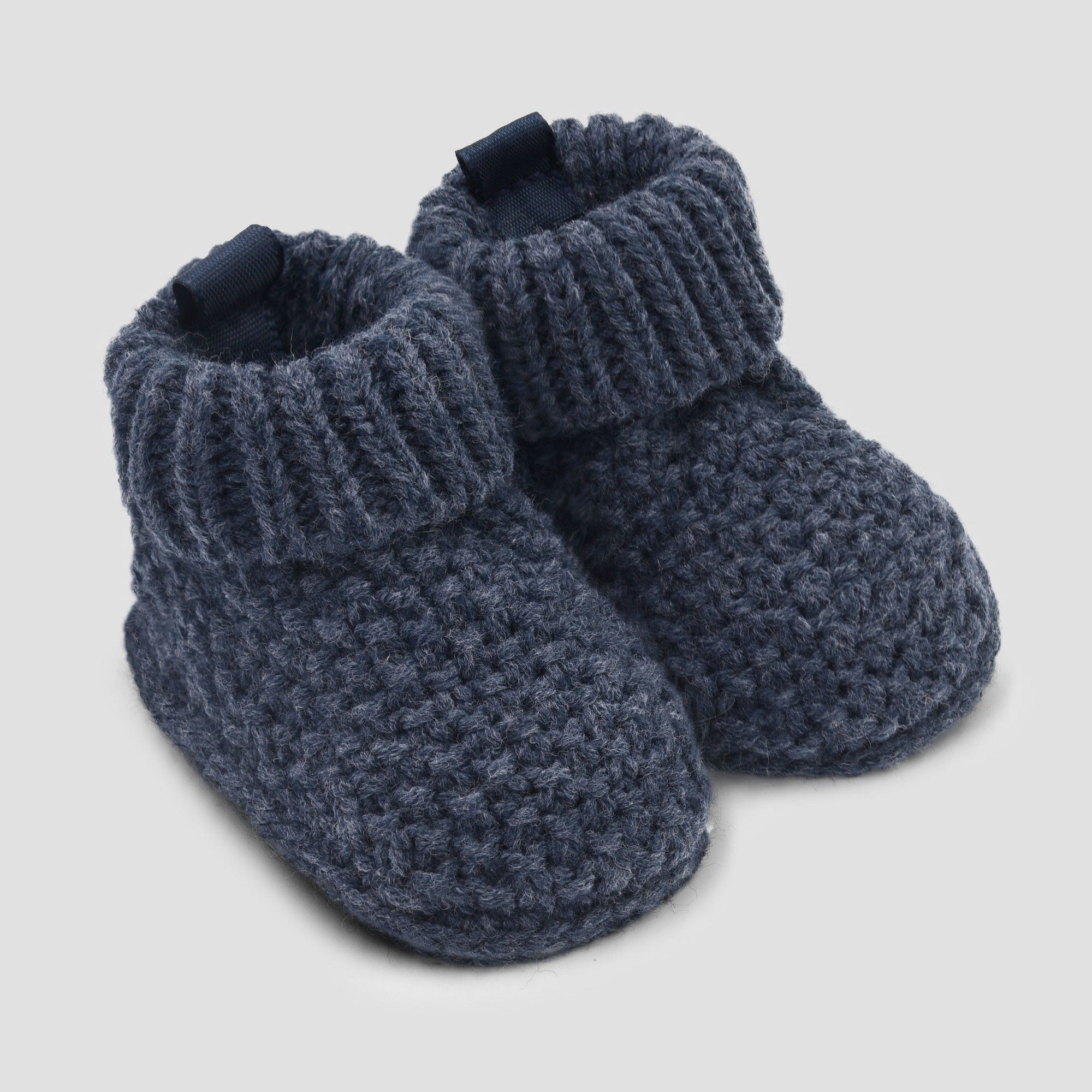 fcbdb7f923ed8 Baby Boys' Knitted Seed Slipper - Just One You made by carter's Blue ...
