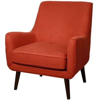 New Pacific Direct Zoe Fabric Armchair Color: