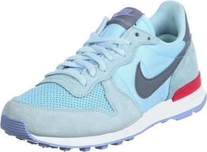 Nike Internationalist W Schuhe blau weiß